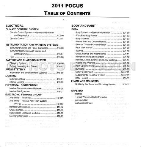 auto repair manual online 2011 ford f series on board diagnostic system 2011 ford focus repair shop manual original