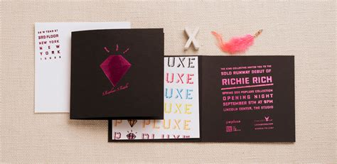 Richie Sent Out Invitations by Events Corporate Regas