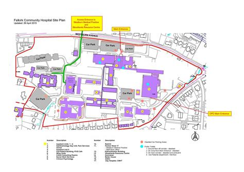 The Floor Plan Of A New Building Is Shown nhs forth valley falkirk community hospital