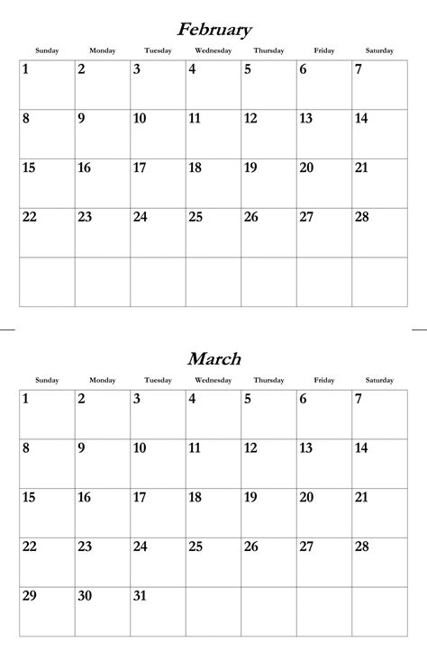 2015 calendar template february feb mar 2015 calendar template free stock photo