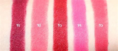 Lipstik Purbasari No 95 purbasari lipstick color matte new shade no 91 95