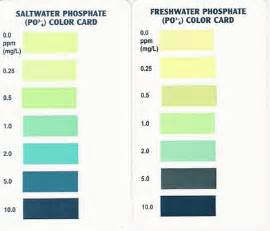 what color is phosphorus free downloads filter test kit charts