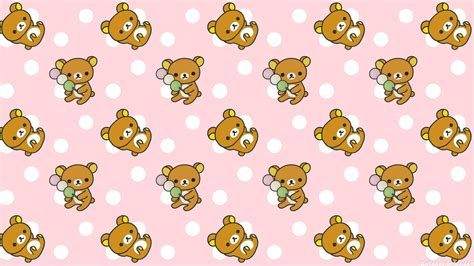 cute pattern desktop backgrounds hd rilakkuma cute pattern wallpaper download free 139090