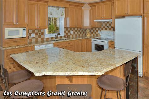 comptoire cuisine comptoirs de cuisine en granit on cuisine