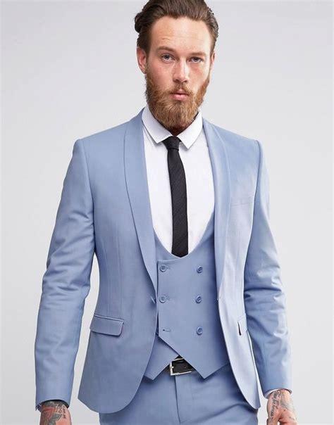 light blue breasted suit 2017 coat pant designs light blue suit