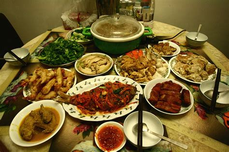 new year reunion dishes new year reunion dinner flickr photo