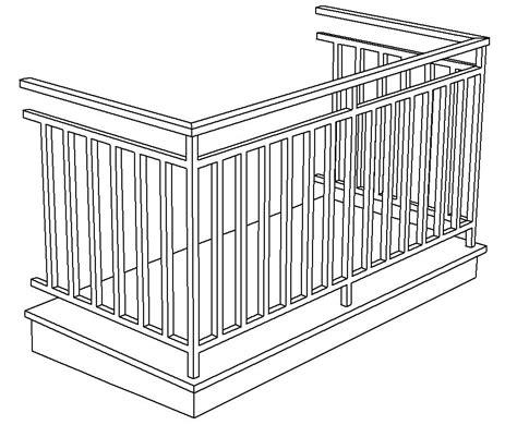 ringhiera dwg ringhiere un esempio cad e architettura