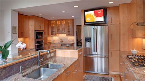 Kitchen Screen by 20 Awesome Flat Screen Tv Furniture In The Kitchen Home