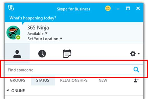 Corporate Email Address Search How To Add Skype For Business Contacts Bettercloud Monitor