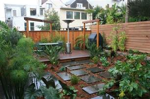low maintenance yard design exterior modern with wood
