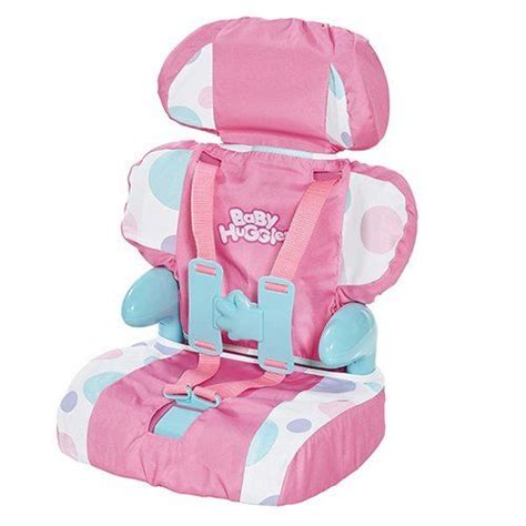doll booster seat doll car safety seat baby huggles dolls car booster