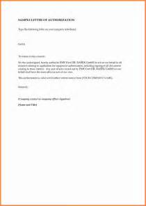 sle authorization letter giving permission documents