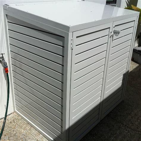 Pool Filter Cover Shed by Pool Cover Slats