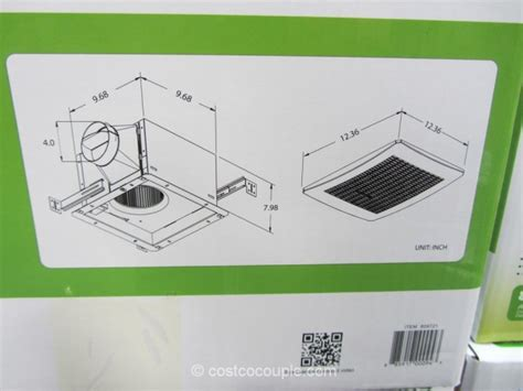 humidity sensing bath fan costco delta breez humidity sensing bath ventilation fan