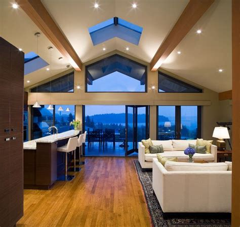 Vaulted Ceiling Lighting Ideas by Beautiful Vaulted Ceiling Designs That Raise The Bar In Style