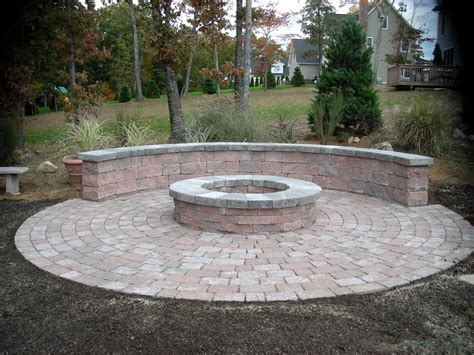 Patio And Firepit Ideas Paver Patio Firepit Outdoor Pit Design Ideas Spaces And Corner Area Images Simple Savwi