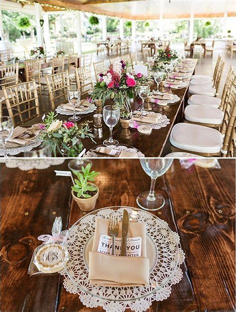 reception decor once wed elegant table settings gold pennsylvania romantic pink and gold wedding reception
