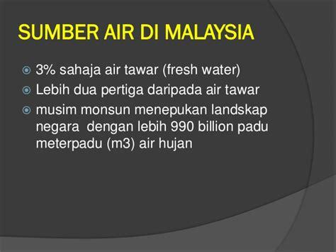 Air Di Malaysia mini projek isu air di malaysia