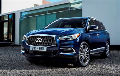2016 infiniti qx60 hauling 2016 infiniti qx60 shows fresh style retuned chassis updates