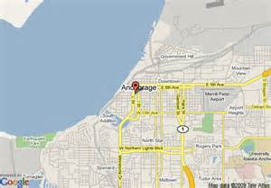 us map anchorage alaska map of the anchorage downtown hotel anchorage