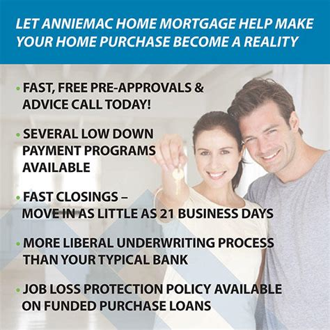 anniemac home mortgage in mount laurel nj 855 625 8