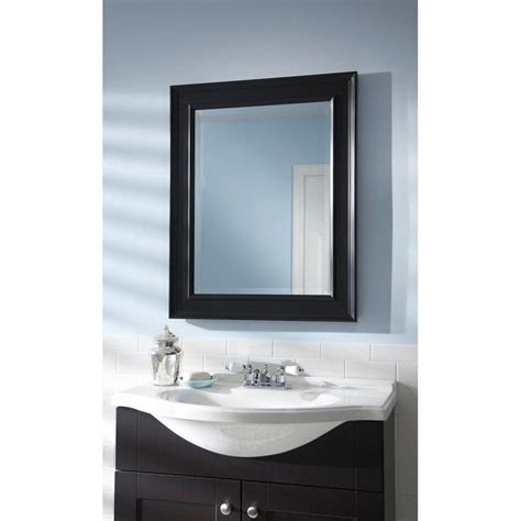 Black Framed Mirrors For Bathroom Best 25 Black Framed Mirror Ideas On Mirrors With Black Frame Bathroom With Black