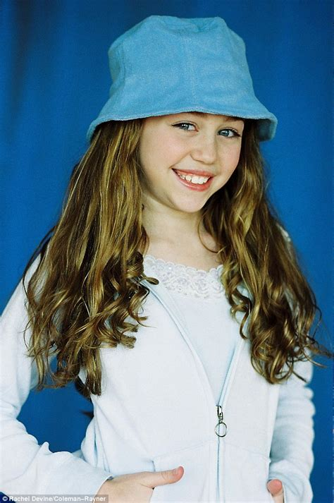 pimpandhost beautifullteens miley cyrus modelling shoot when she was 11 year old girl
