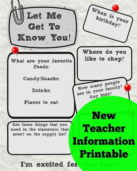 What To Get A Get To The Printable Info Sheet A S Take