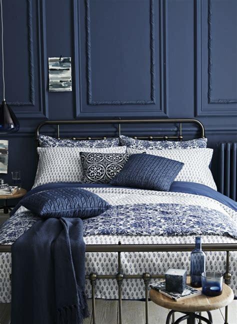 schlafzimmer dunkelblau schlafzimmer blau 50 blaue schlafbereiche die schlaf