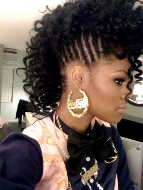 hair pieces to wear with fo hawk hairstyle braided hairstyles for black girls 30 impressive
