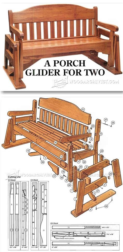 furniture plans online porch glider plans outdoor furniture plans projects