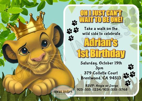 king birthday card template king birthday invitations invitation librarry