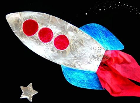 rocket craft for shiny rocket craft allfreekidscrafts
