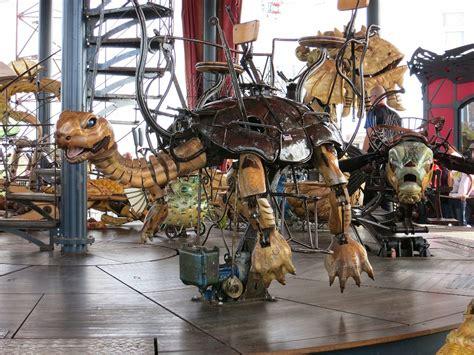 les machines tortoise ride le carrousel des mondes marins les machines