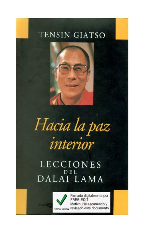 hacia la paz interior conversion is not my intention changing by dalai lama like success