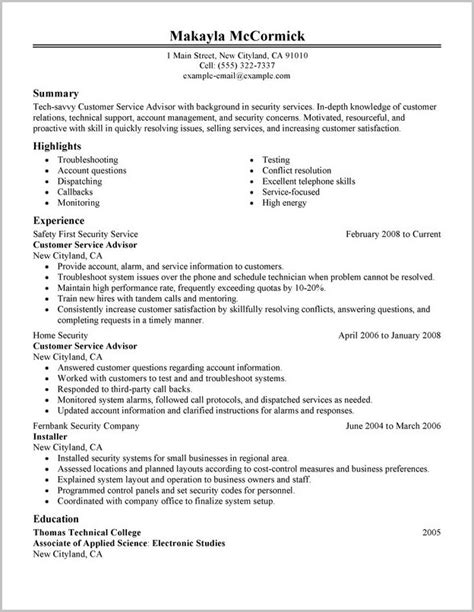 to civilian resume sle to civilian resume templates 28 images to civilian