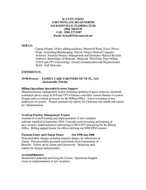 resume payments resume ideas