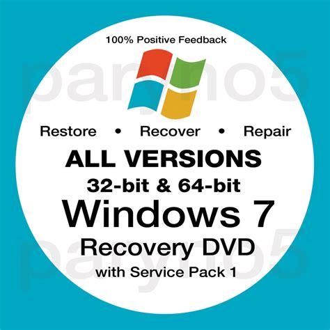 32bit 64bit Kaset Dvd Windows 10 All In One 32bit 64bit Selalu Ready windows 7 ultimate recovery 64 bit install reinstall boot