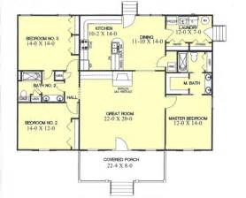 beautiful house plans with front porch one story #3: 49-129m.gif