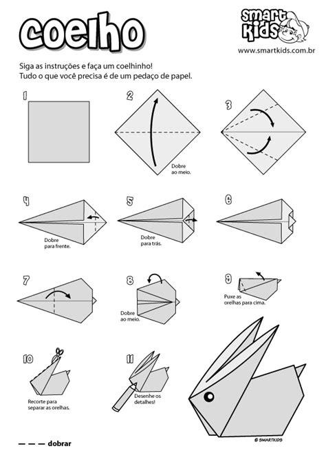 Atividade Origami Coelho - Atividades - Smartkids