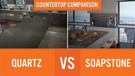 Soapstone Vs Granite Cost - quartz vs soapstone countertop comparison