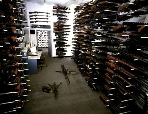 arsenal of weapons obama is against us having guns but his bureaucrats are