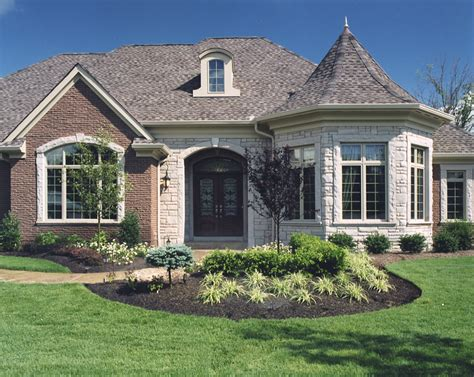 stone house designs and floor plans brick stone combinations homes brick stone or stucco