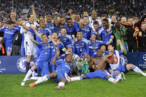 chelsea ucl 2012 chions league final bayern v chelsea in pictures