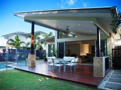 outdoor areas enclosed outdoor living design with glass balustrade