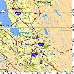 milpitas california map milpitas california ca population data races