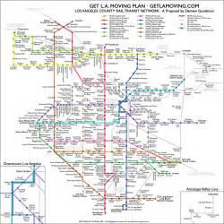 transit los angeles map