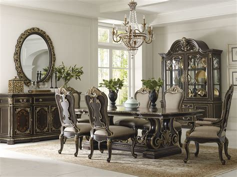 schnadig dining room furniture the mezzanotte rectangle dining room collection 15454