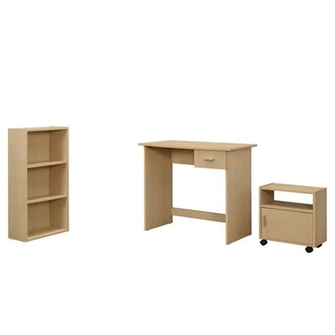Kid Desk L 3 Desk Set In Maple I 7103