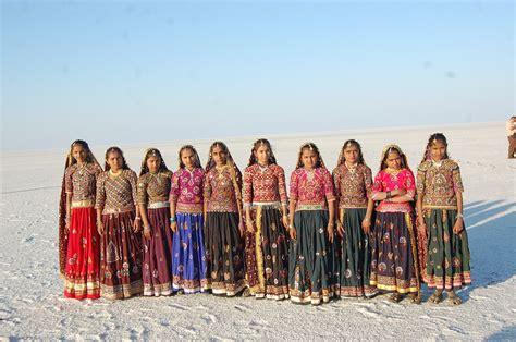Gujarat Dress kutch white rann of gujarat india traditional dresses